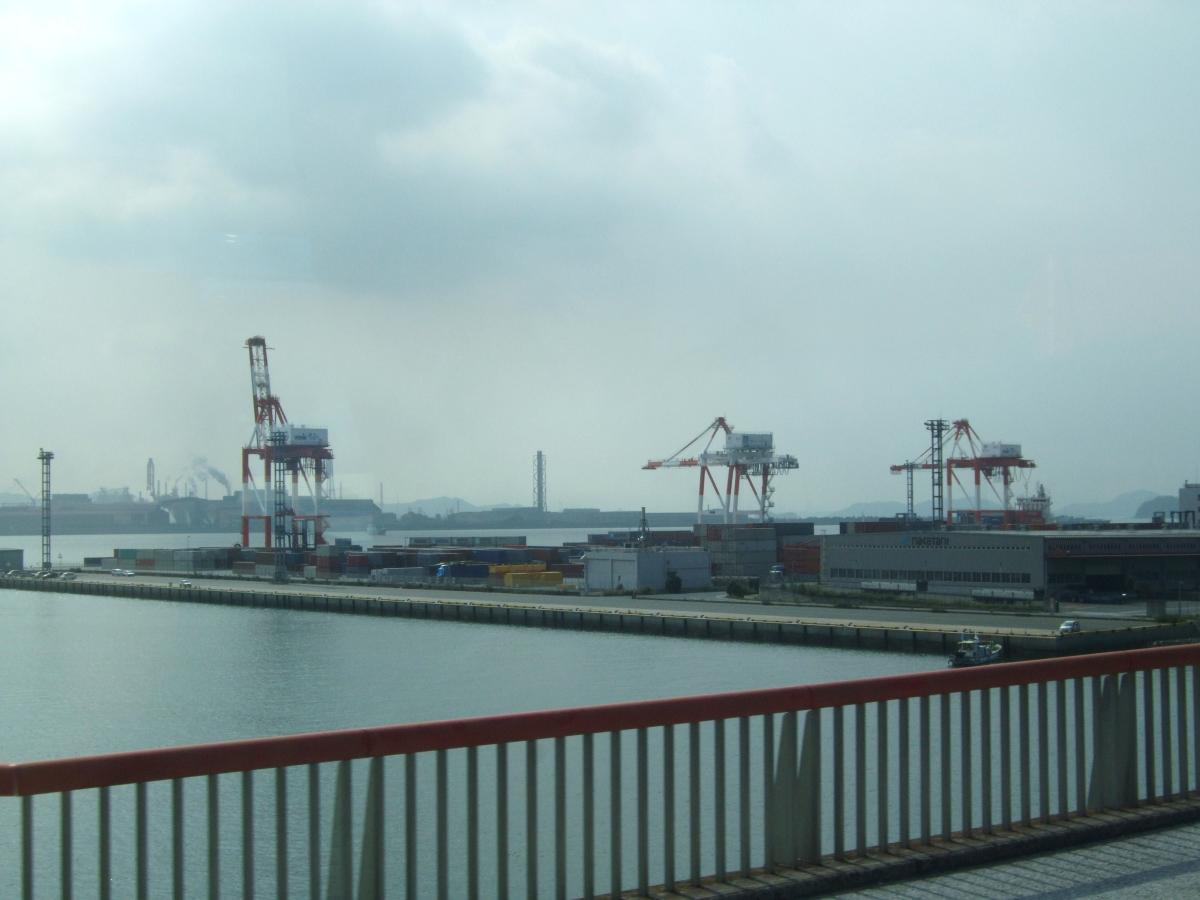 岡山県倉敷市-水島港